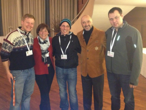 Rupi, Rosi Mittermeier, Robert, Christian Neureuther, Alois